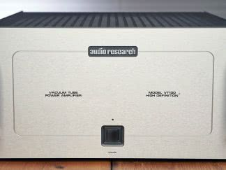 audio research vt100 mkII front panel
